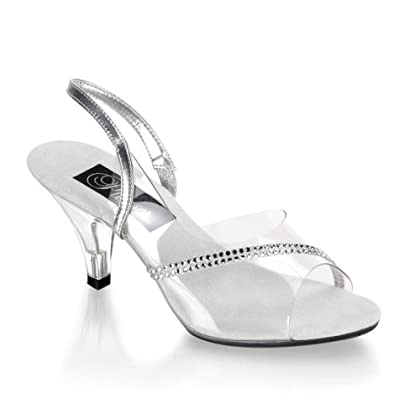 the perfect silver bridal wedding shoes