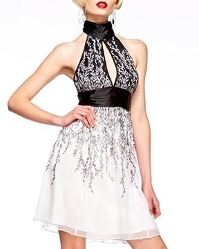 bebe.com : Silk Babydoll Halter Dress