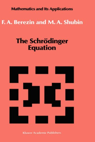 The Schrödinger Equation (Mathematics and its Applications)