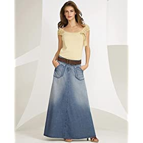 Long Jeans Skirts For Women