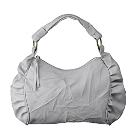 white crinkle hobo