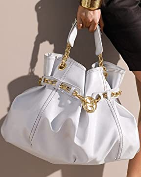 bebe.com : Leather & Chain Tote from bebe.com