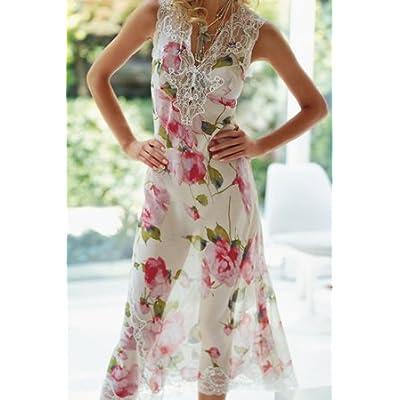 Summer Silk Floral Petticoat