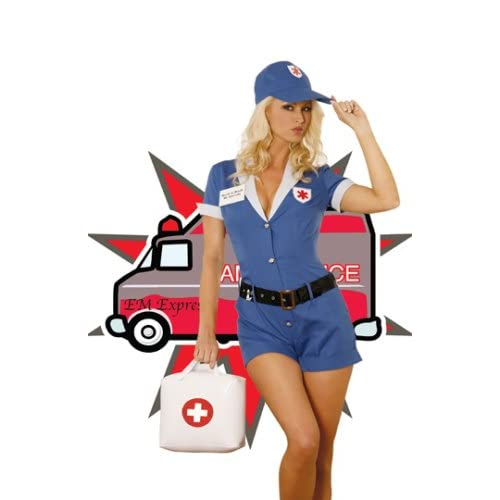 Sexy Girls in Halloween Costume Sexy Paramedic Adult