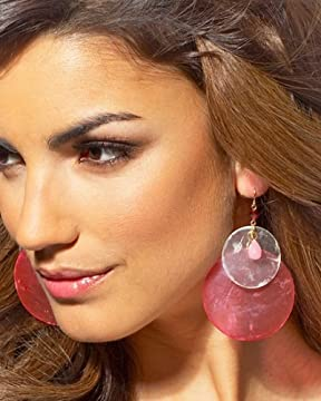 bebe.com : Beaded Shell Earrings from bebe.com