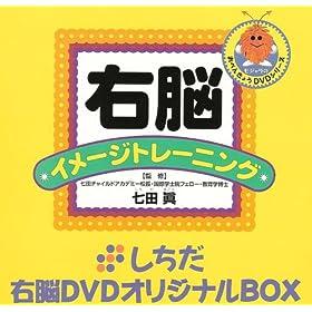 【クリックでお店のこの商品のページへ】七田式教材 しちだ右脳DVDオリジナルBOX <BOX2 ひらがな カタカナセット>
