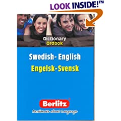 Berlitz Swedish English Dictionary
