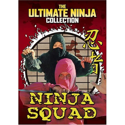 [Kung Fu] The Ninja Squad, killers Invincible (1984) - DVD/Rmvb