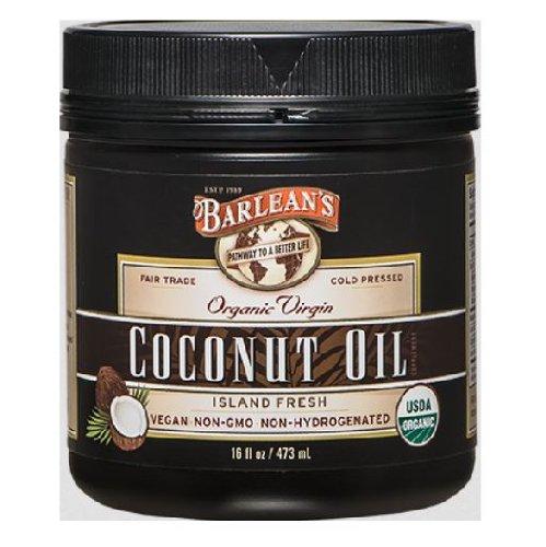 Amazon.com: Barlean's Organic Virgin Coconut Oil, 16-Ounce Jar ...