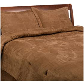 Amazon - Luxury Microsuede Comforter 4-Piece Bedding Set - $29.99 shipped