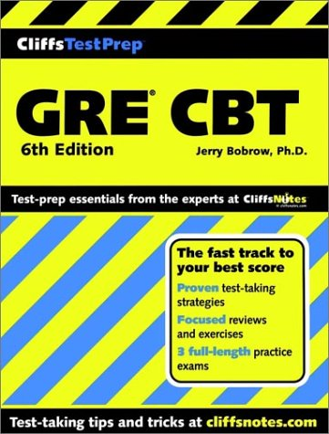 Cliffstestprep Gre Cbt (Cliffs Preparation Guides)