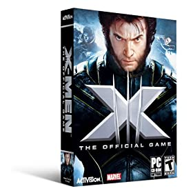 لعبه X-Men Official Game جزئين