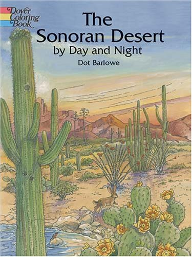 The Sonoran Desert by Day and Night (Dover Pictorial Archive Series)