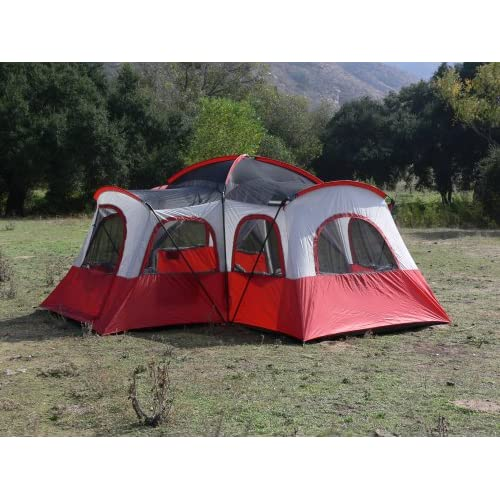 Iu0027ve seen some at Walmart/Target/Costco although in the end they pretty much all seem the same to me. I remember when having a 4 person tent meant you ...  sc 1 st  DISboards.com & has anyone camped with a 4 room tent? | The DIS Disney Discussion ...