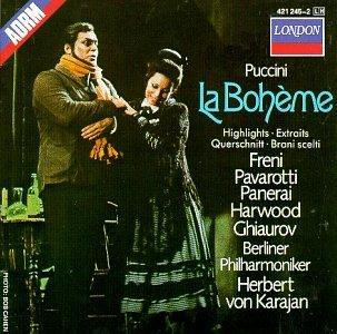 Berlin - Puccini - La Bohème / Freni, Pavarotti, Harwood, Berlin Phil., Karajan [Highlights] - Zortam Music