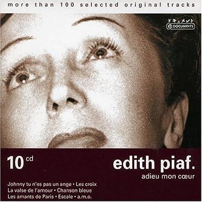 Edith Piaf   Adieu Mon Coeur Box set preview 0