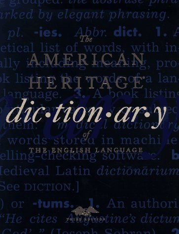 American Heritage Dictionary of the English Language