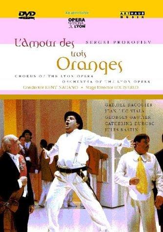 DVD, Bel Air classiques: L'Amour des Trois Oranges 518HZD6SDGL._