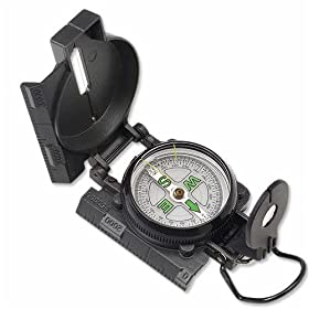 Lensatic Military Marching Compass