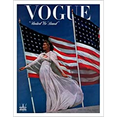 vogue magazine cover from july 1942
