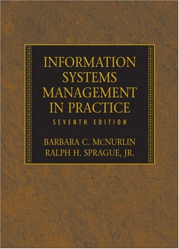 Information Systems Management in Practice (7th Edition)
