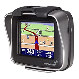 TomTom Rider 32MB GPS Navigator for Motorcycles and Scooters at Amazon.com
