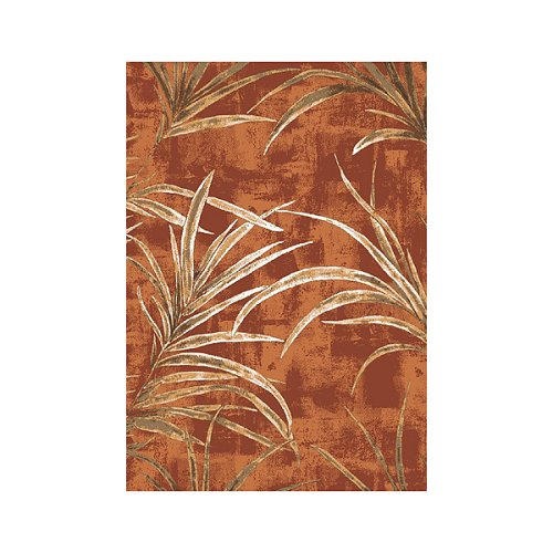 Stainmaster® Rainforest Rug - Fall Orange (2