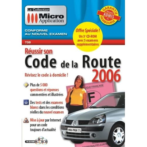Reussir Son Code De La Route 2 CD Rom preview 0