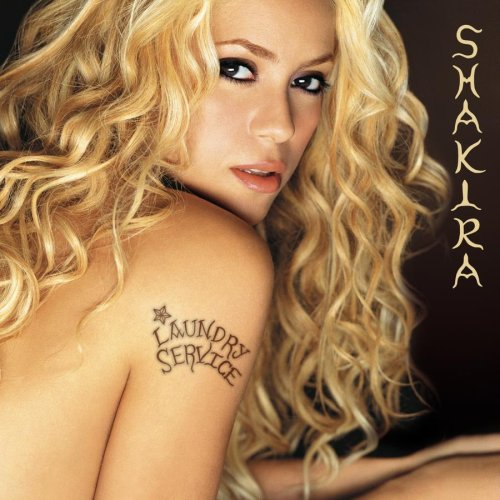 shakira laundry service album cover. Show Your Shakira Cd / Dvd