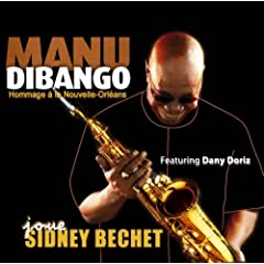 "Featured recording ""Manu Dibango joue Sidney Bechet"""