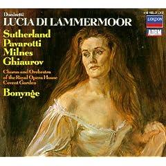 Donizetti - Lucia di Lammermoor / Sutherland · Pavarotti · Milnes · Ghiaurov · ROH Covent Garden · Bonynge