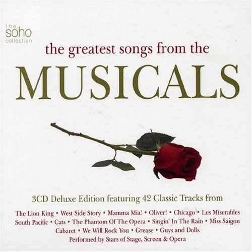 Various Artists - Greatest Songs from the Musicals - Zortam Music