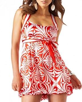 bebe.com : Silk Bubble Hem Babydoll Dress