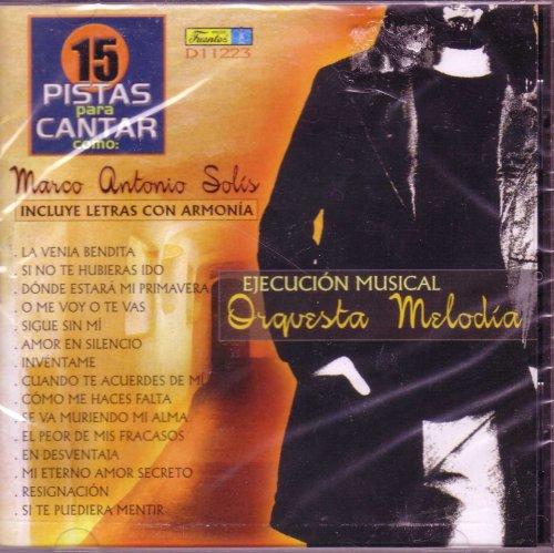 Marco Antonio Solis - Pistas - Zortam Music