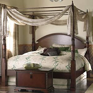 The Bombay Company Store: Herning Four Poster Bed - King - Java
