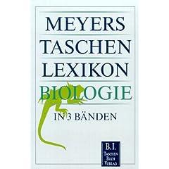 Meyers Taschenlexikon Biologie