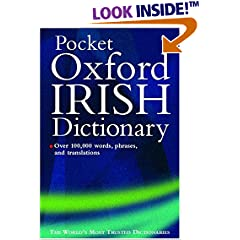 Oxford Pocket Irish Dictionary