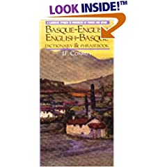 Basque-English English-Basque Dictionary
