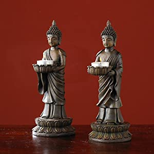 The Bombay Company Store: Buddha Tealight Holders - Assorted