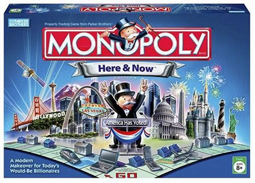 Replaced by faux Visa cards and readers/calculators. Monopoly. Th…
