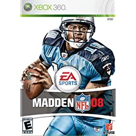 Madden 08 cover from Amazon.com