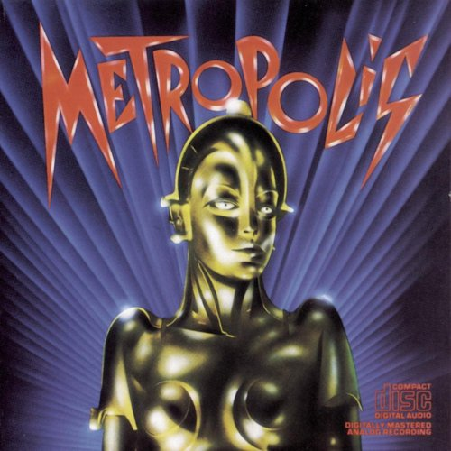 Original album cover of Metropolis (1984 Re-release Of 1927 Film) by Giorgio Moroder
