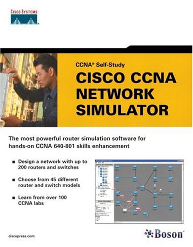 Cisco CCNA Network Simulator (CCNA Self-Study, 640-801)