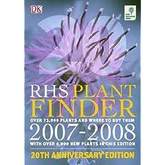 RHS Plant Finder 2007-2008 (Rhs)