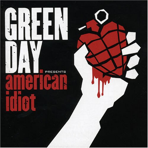 Original album cover of American Idiot by Green Day