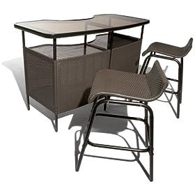 Amazon - Strathwood Bar and Stool Set - $159.99