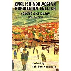 English-Norwegian Norwegian-English Dictionary