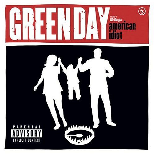 Original album cover of American Idiot single by Green Day