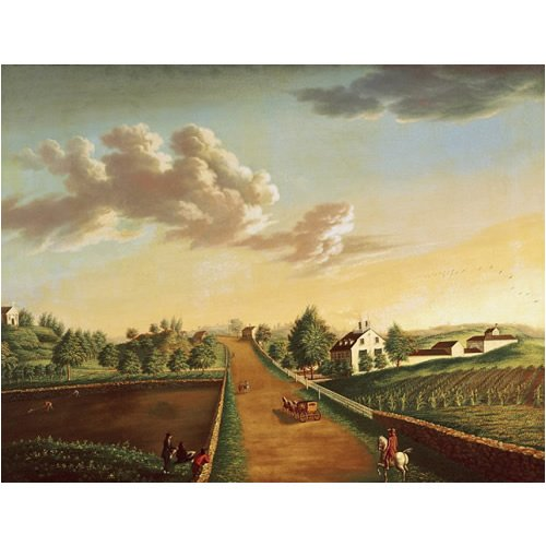 "Derby Farm Wallpaper Mural, 108"" x 72"""