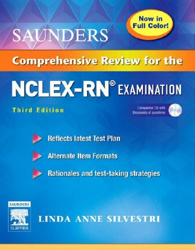 Saunders Comprehensive Review for the NCLEX-RN (R) Examination Full Color Reprint